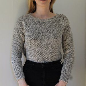 Cozy Salt and Pepper Dynamite Sweater